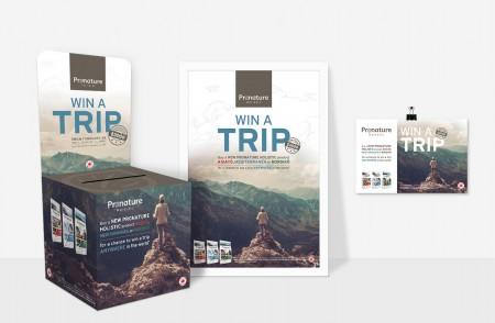 Outils promotionnels – Affiche – Carton promotionnel – Boîte de tirage – Coupon de réponse – SDA3
