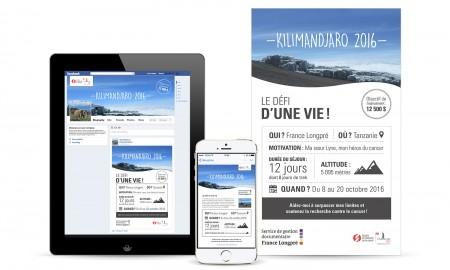 Plateforme promotionnelle – Courriel – Bannières Web – Affiche – SDA3