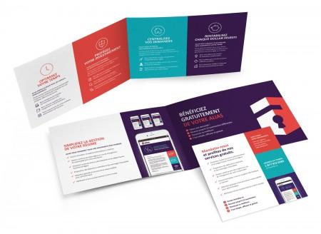 Image de marque – Logo – Brochure – Encart – Courriel informatif – SDA3