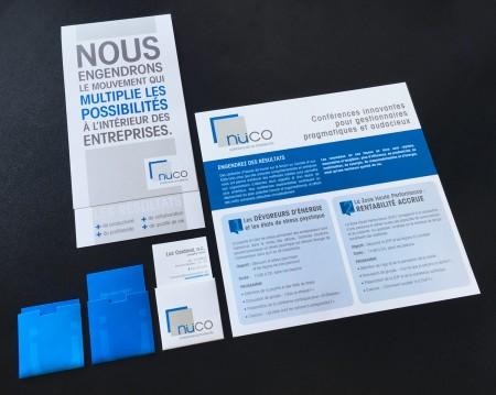 Image de marque – Carte professionnelle – Papeterie – Dépliant – Courriel promotionnel – SDA3