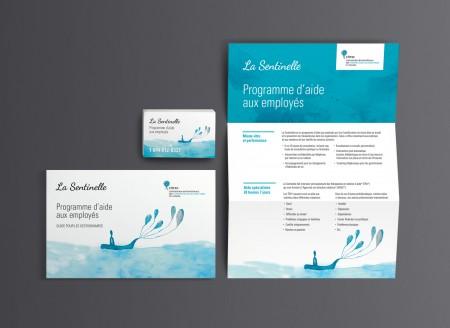 Image de marque – Carte portefeuille – Feuillet de vente – SDA3