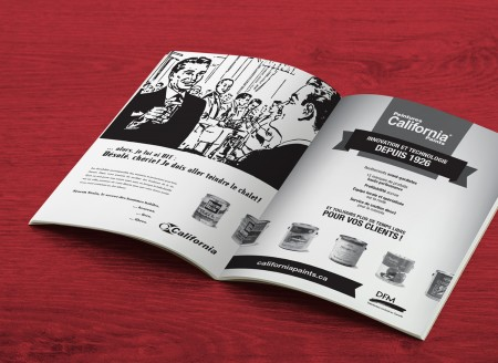Publicité imprimée – SDA3