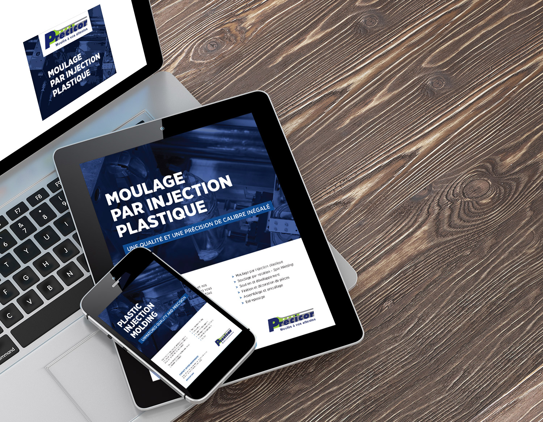 Plateforme promotionnelle – Publicité Web – GIF animé – SDA3