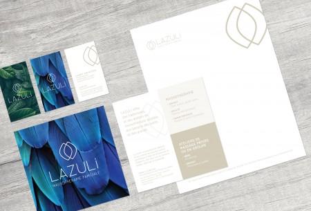 Image de marque – Logo – Carte – Papeterie – Carton promotionnel – SDA3