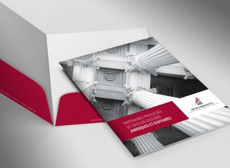 Image de marque - Pochette corporative - SDA3