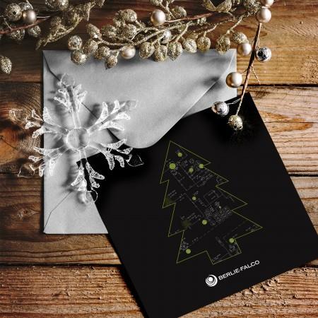 Outil promotionnel - Carte de Noël - SDA3